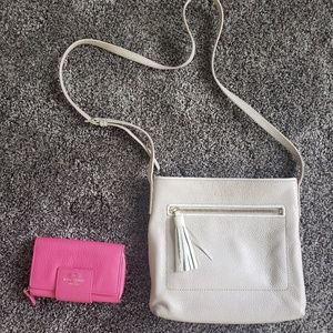 Kate Spade crossbody and wallet